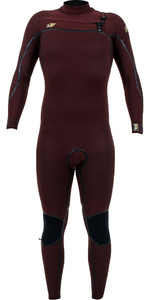 2019 O'Nill Psycho One 5/4mm Wetsuit Met Chest Zip Weduwe 4993