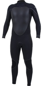 2020 O'Nill Heren Psycho Tech 4/3mm Wetsuit Met Back Zip 5335 - Zwart