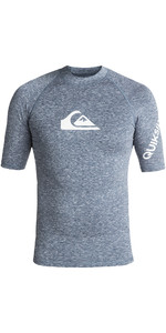 2019 Quiksilver Aller Zeiten Quiksilver Rash Weste Dark Denim Heather Eqywr03136