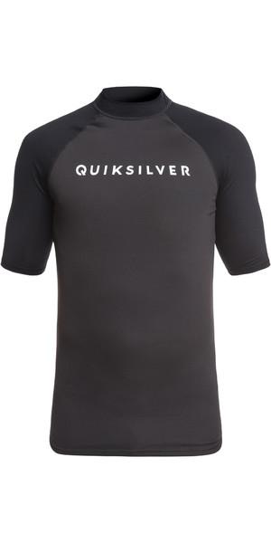 2019 Quiksilver Always There - Maglia manica corta a maniche corte nera EQYWR03142