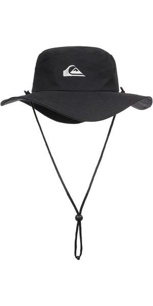 2019 Quiksilver Bushmaster Bucket Hat Black AQYHA03314