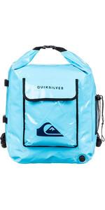 2019 Quiksilver Deluxe Bagnato Dry Zaino 32L Egl00delux Blu