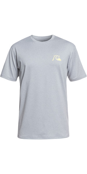 2019 Quiksilver El Capitan camiseta de manga corta en forma chaleco cutre gris jaspeado gris EQYWR03158