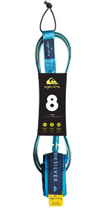 "2019 Quiksilver Euroglass Highline Prancha De Surf Leash 8'0 ""azul Eglhhline8"