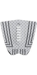 2019 Quiksilver Euroglass Prancha De Surf Tailpad / Grip Grey Eglpdnsuit