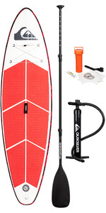 "2019 Quiksilver Euroglass Isup Performer 9'6 ""x 30"" Opblaasbare Stand Up Paddle Board Incl Paddle, Tas, Riem &"