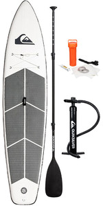 "2019 Quiksilver Dérive De Course ISUP De 11'6"" Gonflable Stand Up Paddle Board Inc Paddle, Sac, Laisse Et Pompe Eglisrd"
