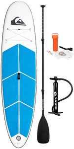 "2019 Quiksilver Euroglass Isup Thor 10'6 ""x 31,5"" Oppustelig Stand Up Paddle Board Inc Paddle, Taske, Snor & P"