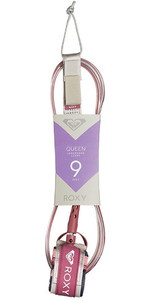 "2019 Quiksilver Euroglass Longboard Queen Ginocchio Guinzaglio 9'0 ""rosso Eglqueen19"