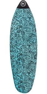 """2019 Quiksilver Euroglass Shortboard Surfboard Socke 6'0 """"blau Egl19qsk60"""