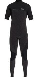 2019 Quiksilver Highline 2mm Zipperless Korte Mouw Wetsuit Zwart Eqyw303009