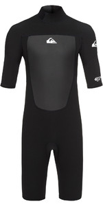 2019 Quiksilver Junior Prologue 2mm Shorty Wetsuit Negro Eqbw503008