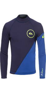2019 Quiksilver Junior Syncro Series 1mm Neopren Top-nite Blau Eqbw803003