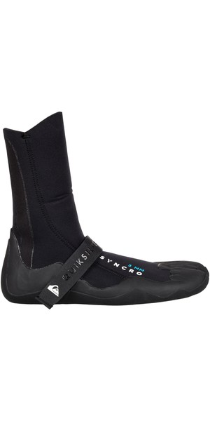 2019 Quiksilver Syncro 3mm Split Toe Wetsuit Boot Black EQYWW03010