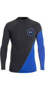 2019 Quiksilver Syncro New Wave 1mm Langærmet Neopren Top Kongeblå Eqyw803007
