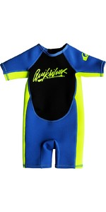 2019 Quiksilver Toddlers Syncro 1.5mm Spring Shorty Muta Blu Eqtw503002