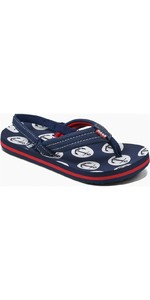 2019 Reef Kids Little Ahi Sandaler / Flip Flops Anchors RF002345