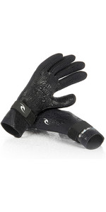 2019 Rip Curl E-Bomb 2mm 5 Finger Neopren Glove Sort WGL5SE