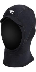 2020 Rip Curl E-bomb 2mm Gbs Capucha De Neopreno Negro Whooae