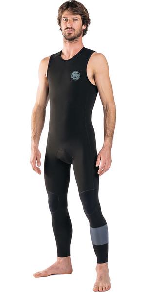 2019 Rip Curl Mens Aggrolite 1.5mm Long John Wetsuit Black WSM8PM
