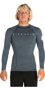 2019 Rip Curl Mens Dawn Patrol Long Sleeve Rash Vest Navy WLUGCM