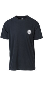 2019 Rip Curl Homens Surfista Original Wetty T-shirt Preto Ctecz5