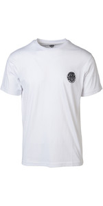 2019 Rip Curl Curl Heren Origineel Surfer Wetty T-shirt Wit Ctecz5