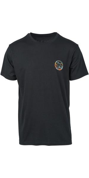 2019 Rip Curl Herre Rider T-Shirt Sort CTEIK5