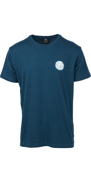 2019 Rip Curl Herre Rider T-Shirt Navy CTEIK5