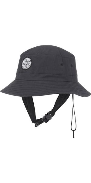 2019 Rip Curl Wetty Surf Bucket Hat Schwarz CHADJ1