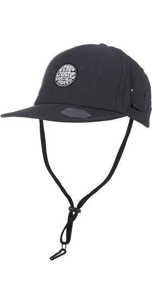 2019 Rip Curl Wetty Surf Cap Black CCAOS1