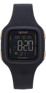2019 Rip Curl Womens Candy2 Digital siliconenhorloge Rose Gold A3126G