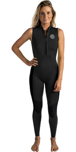 2019 Rip Curl Dames G-bomb 1.5mm Long Jane Wetsuit Zwart WSM6AW