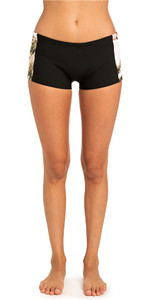 2019 Rip Curl Womens G-Bomb Boyleg 1mm Neoprene Shorts White WSH4BW