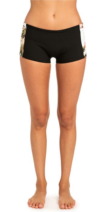 2019 Rip Curl Womens G-Bomb Boyleg 1mm Neoprene Shorts White WSH4BW