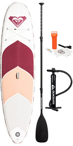 "2019 Roxy Euroglass Molokai 10'6 ""gommone Sup Board Paddle Inc Paddle, Pump, Leash & Bag Eglismok19"