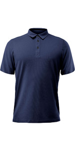 2020 Zhik Manches Longues Zhikdry Lt Polo Navy 0870