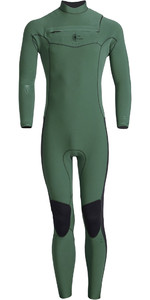 2020 Billabong Herenrevolutie Pro Fabriek 3/2mm Wetsuit Met Chest Zip Q43M60 - Bistro Groen