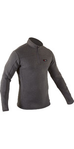2020 Gul Airotherm 1/4 Zip Fleece Top Gm0387-b7 - Cinza / Marrom