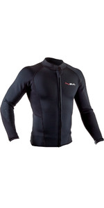 2020 GUL Mens Response 3mm Flatlock Neoprene Jacket RE6304-B7 - Black
