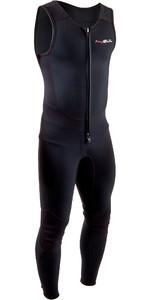 2020 Gul Men Response 3mm Front Zip Long John Wetsuit Re4313-b7 - Preto