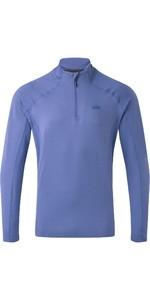 2020 Gill Camiseta Con Cremallera Heybrook 1106 Para Hombre - Océano