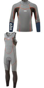 2020 Gill Mens Zenlite 2mm Dinghy Sailing Package Deal - Steel Grey