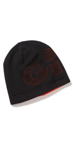 2020 Gill Reversible Knit Beanie HT48 - Black / Orange