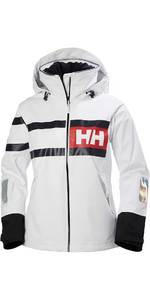 2020 Helly Hansen Womens Salt Power Sailing Jacket 36279 - White