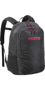 2021 Musto 31L Commuter Backpack 86001 - Black