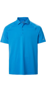 2020 Musto Mens Evolution Sunblock Short Sleeve Polo Shirt 2.0 81148 - Brilliant Blue