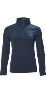 2020 Musto Corsica Delle Donne 100g 1/2 Zip In Pile 82062 - Navy