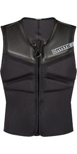 2020 Mystic Block Kite Impact Vest Front Zip KBL - Noir
