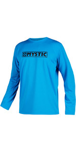 2020 Mystic Mens Star Quick Dry Long Sleeve Top STQDLS - Blue